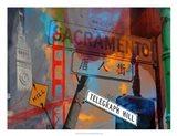 San Francisco Signs I Art Print