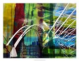Denver Bridge Art Print