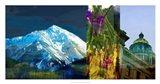 Denver Panorama I Art Print