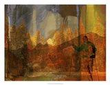 Denver Hiker Art Print