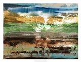 Mountain Abstract II Art Print