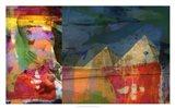 Pharaohs & Pyramids II Art Print