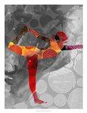 Yoga Pose II Art Print