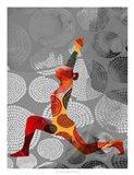 Yoga Pose IV Art Print