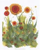 Poppy Whimsy II Art Print