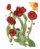 Poppy Whimsy III Art Print