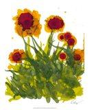 Poppy Whimsy V Art Print