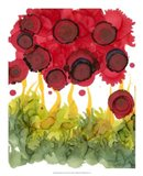 Poppy Whimsy VI Art Print