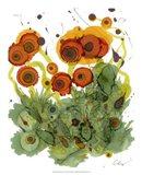 Poppy Whimsy VII Art Print