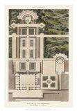 Plan De La Villa Barberini Art Print