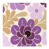 Fuchsia Floral IV Art Print