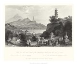 Temple, at Lake Lee-Hoo Art Print
