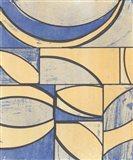 Indigo Complement II Art Print