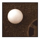 Sepia Golf Ball Study I Art Print