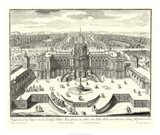 Fountains of Versailles II Art Print
