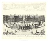 Fountains of Versailles III Art Print