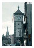 Clock Tower I Art Print