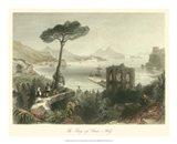 Bay of Baie, Italy Art Print