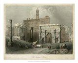 The Forum- Rome, Italy Art Print