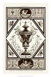 Sepia Pergolesi Urn I Art Print