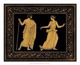 Etruscan Scene I Art Print