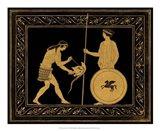 Etruscan Scene IV Art Print