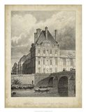 Pavillon de Flore & Pont Royal Art Print