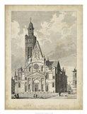 Eglise de St. Etienne-Du-Mont Art Print