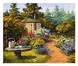 Woodland Garden Art Print