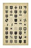Vintage Heraldry II Art Print