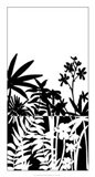 Tropical Silhouette I Art Print