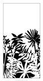 Tropical Silhouette II Art Print