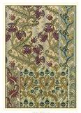 Garden Tapestry IV Art Print