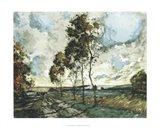 Autumn Landscape IV Art Print