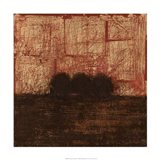 Weathered Landscape I Art Print