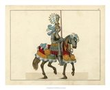 Knights in Armour I Art Print