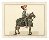 Knights in Armour III Art Print