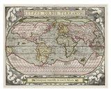 Typvs Orbis Map Art Print