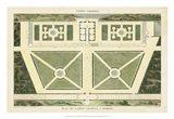 Plan du Casino Colonna, A Marino Art Print