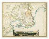 Map of Syracuse Art Print