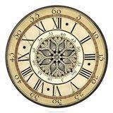 Vintage Lace Clock Art Print
