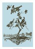 Avian Toile I Art Print