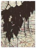 Batik Hanging Leaves I Art Print