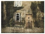 English Cottage III Art Print