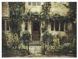 English Cottage IV Art Print