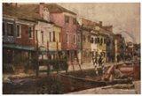 Burano Canal II Art Print