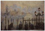 Dawn & the Gondolas II Art Print