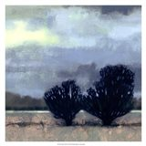 Moonlit Field I Art Print