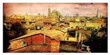 Italy Panorama I Art Print