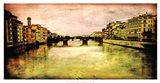 Italy Panorama II Art Print